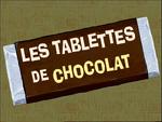 Les tablettes de chocolat