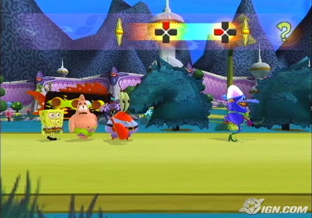 File:3d Spongebob, 3d Patrick, 3d Mr. Krabs, & 3d LRH.jpg