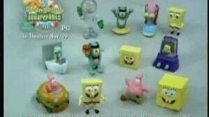 Burger King Kids Meal - The Spongebob Squarepants Movie (2004)