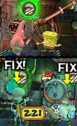 3d Spongebob, 3d Squidward, 3d Sandy, & 3d Patrick4