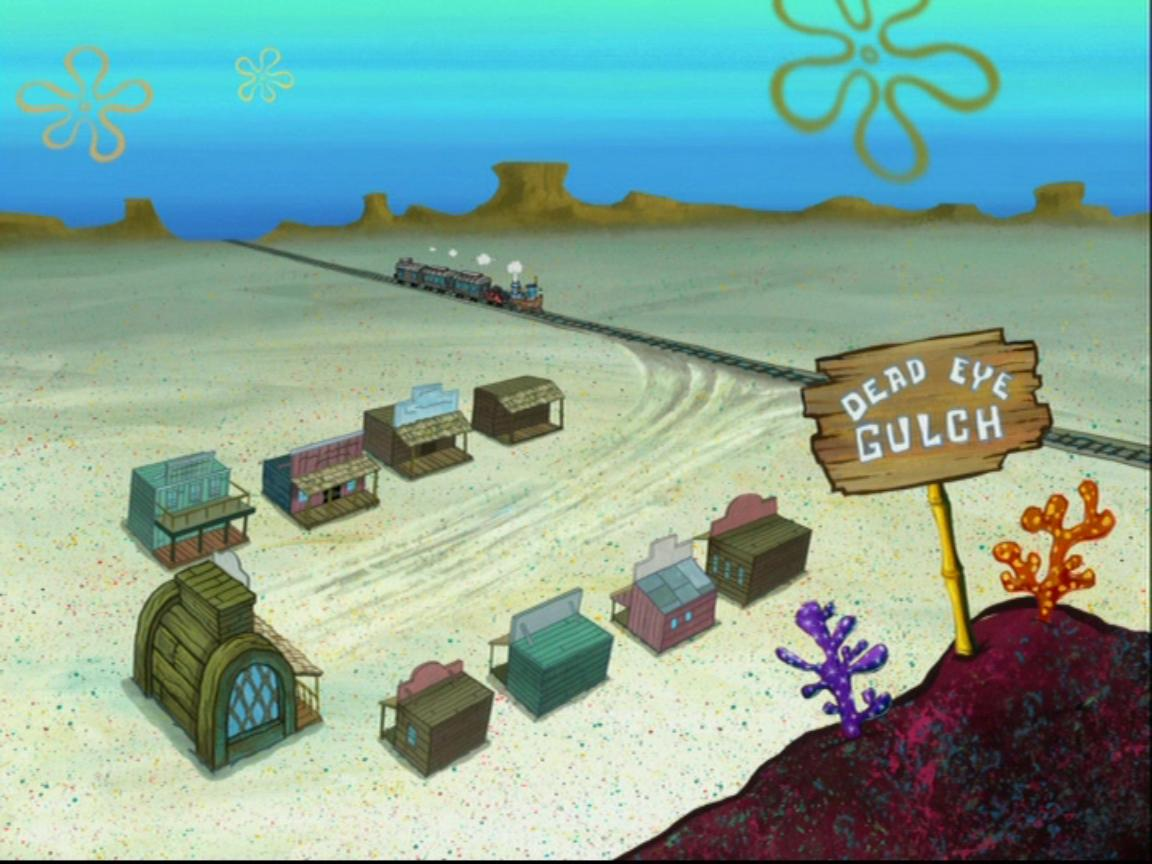 dead eye gulch encyclopedia spongebobia fandom powered by wikia