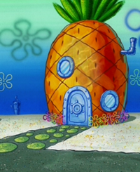 SpongeBob's pineapple house in Season 3-6