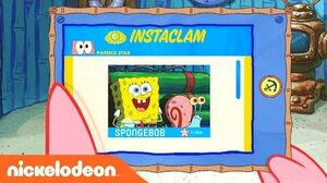 Patrick Checks His Instaclam