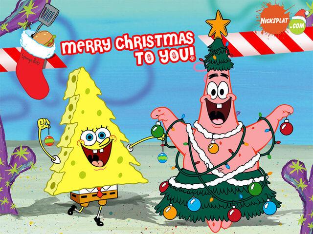 File:Free-Download-Spongebob-Manual-Christmas-Tree-Special-Wallpaper.jpg