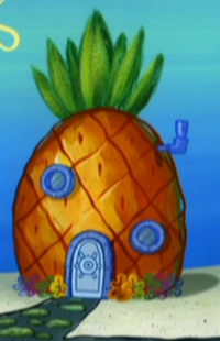 SpongeBob's pineapple house in Season 6-5