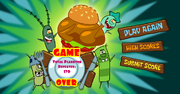 Dinner Defenders - Game Over