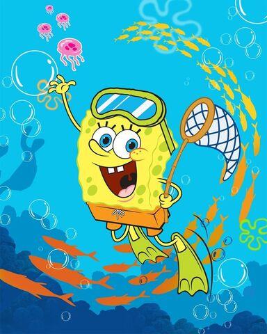 File:SpongeBob Swimming.jpg