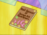 Bank Account of Sponge Bob Squarepants