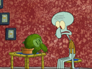 Squidward in Bubble Troubles-5