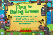 Tips for Being Green
