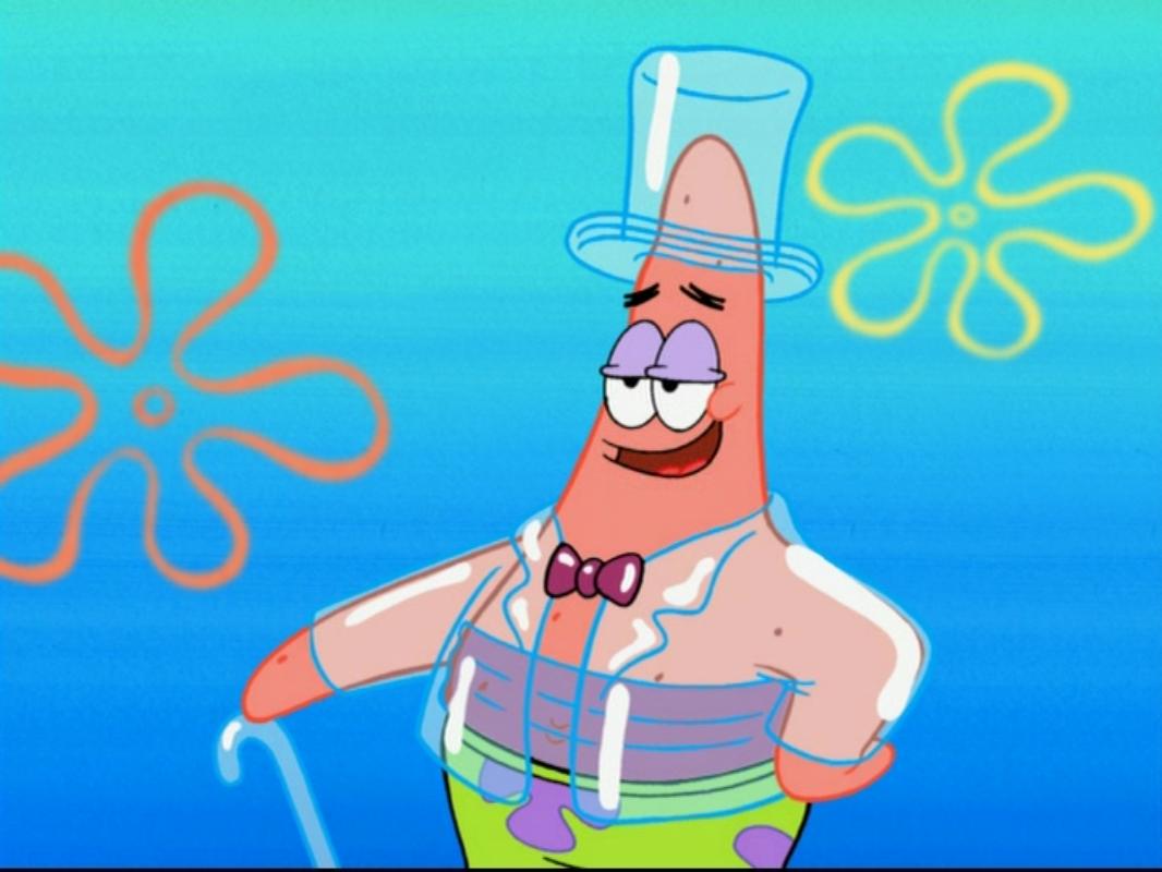 image patrick in sun screen coat png encyclopedia spongebobia