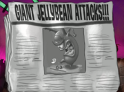 Giant Jellybean Attacks