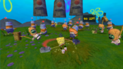 SpongeBob Movie Game Combat Arena Challenge