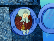 Squidward in Bubble Troubles-11