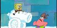 SpongeBob's Snow Cannon