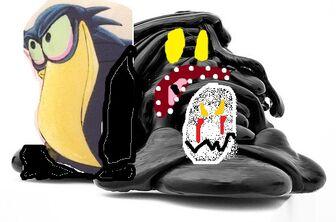 Micro,monsters,art,black,blob,installation,sculpture-66fd3bbd464b27baf1e4b0537b773f1b h