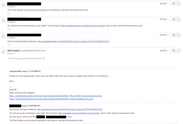 Jordan2001 Sockpuppetry - Email 3c (failed)