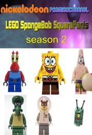 LEGO SpongeBob season 2Front Cover