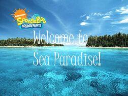 Welcome to sea paridise logo