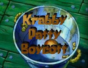 I Don't Like Krabby Patties