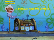 PatricksFirstDayatWork