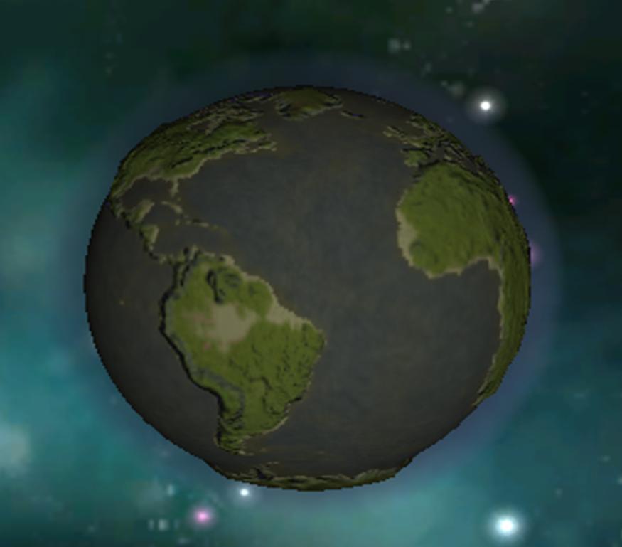 планета земля spore
