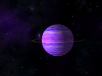 Pink gas giant