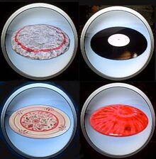 Disc golf bonus discs emblems