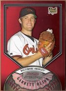 2007 Bowman Sterling Red Refractor