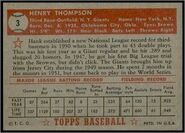1952 Topps Red Back