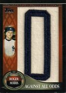 2009 Topps Leg Patch Maris O