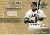 2001 Leaf RS Baseball GAT Bonds