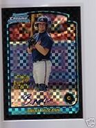 2003 bowman chrome xfractor