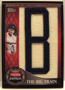 2009 Topps Leg Patch Big Train B
