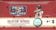 2005 Donruss Prime Patches Box