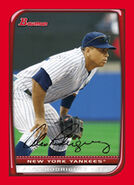 2008 Bowman Baseball Red