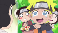 Naruto giving up the voucher