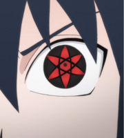 Sasuke's Mangekyo Sharingan