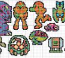 Metroid NES Sprites