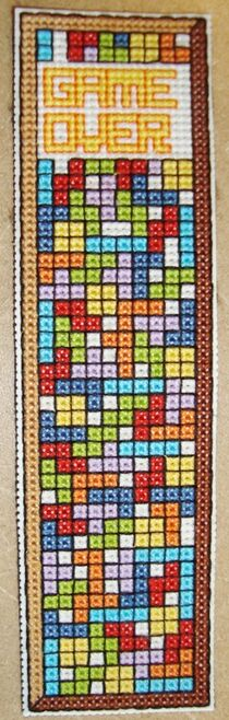 Tetris Bookmark