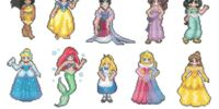 Disney Princess Sprites