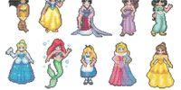 Disney Princess Sprites