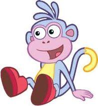 Dora The Explorer Boots Monkey