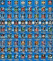 Megaman 8 bit bosses 1-9 names