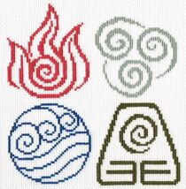 Last Airbender Four Elements