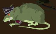 Nazi zombie unusually large rat