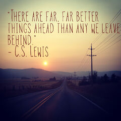 Quote by C.S. Lewis (the guy that wrote