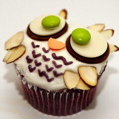 Owl cupcake!!!