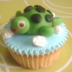 Cute Turtle Cupcake!!!