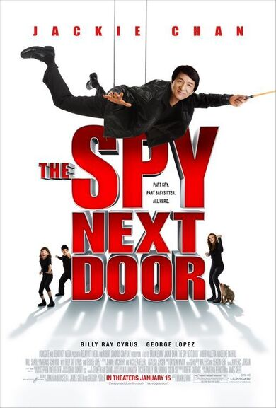 Spy next door cover